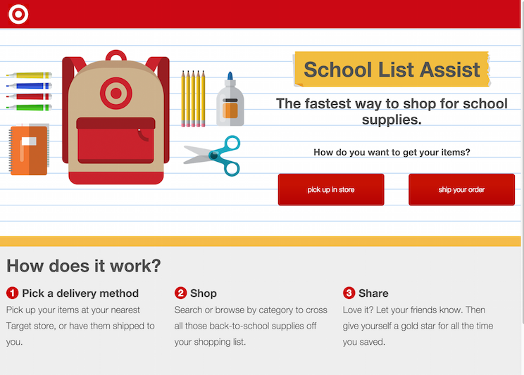Target Makes Back-to-School Shopping Easier for Parents And