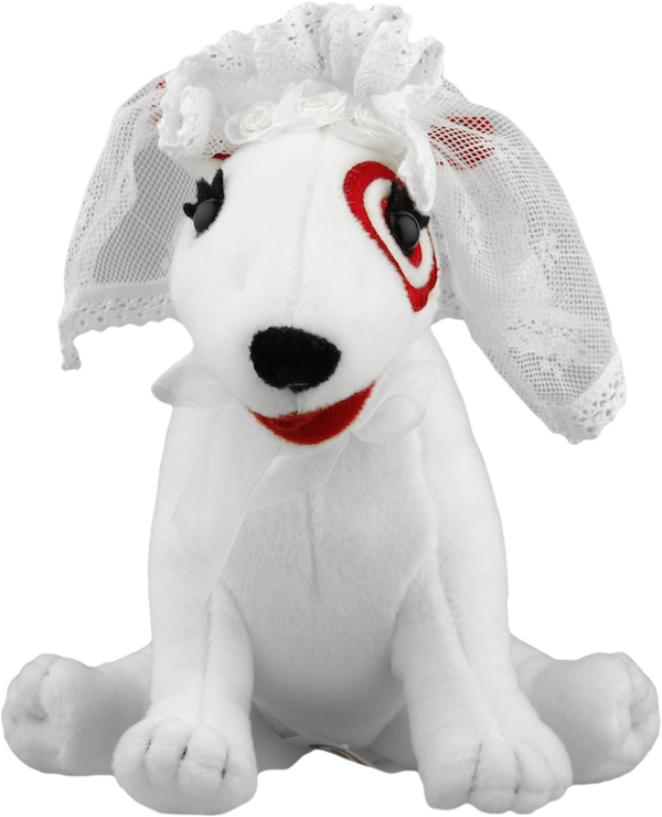 target dog stuffed animal
