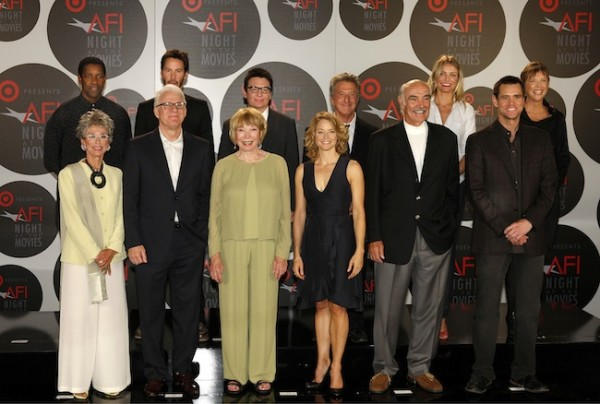 The 2008 presenters at AFI Night at the Movies