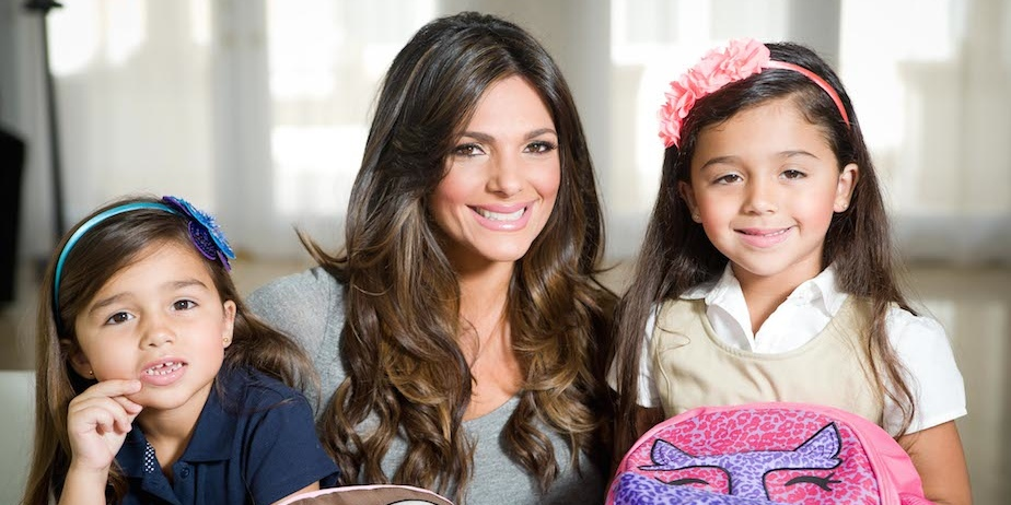 Barbara Bermudo, Camila and Mia