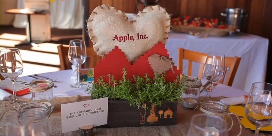 Brit Morin Wedding Table Decor