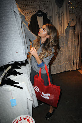Celebs Step Out For Toms For Target