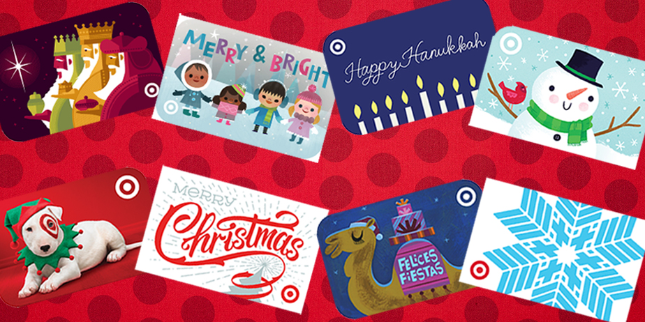 Throwback: A Look Back at 10 Years of Target's Holiday Gift Cards