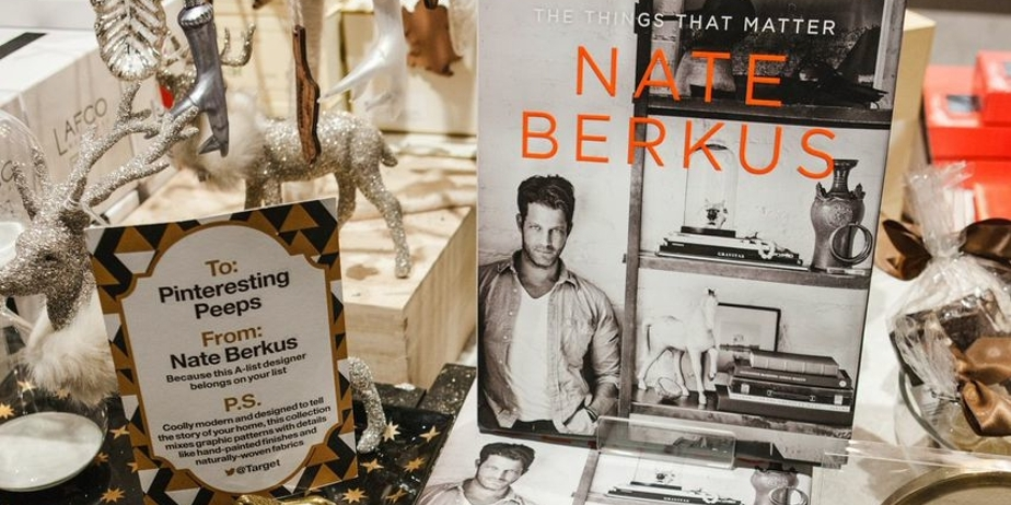 Nate Berkus discusses his latest collection with STORY owner Rachel Shechtman.