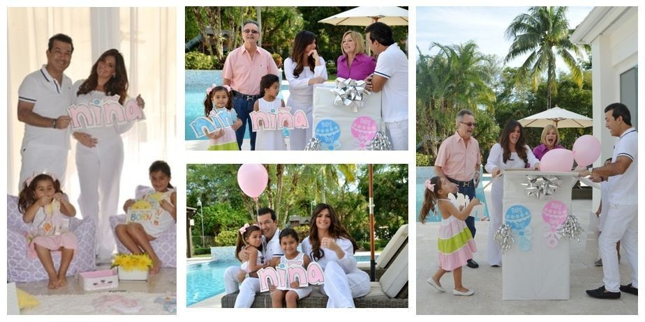 Barbara Bermudo's gender reveal.