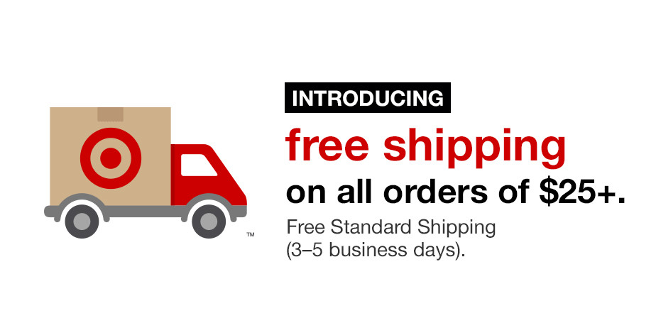Target Free Shipping Sometimes, you don't even need to find a Target free shipping code in order to pay nothing for your shipping. If you purchase your items with a REDCard (Target's credit card), you'll be guaranteed free delivery on your order/5().