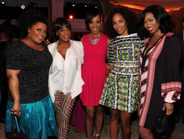 Yvette Nicole Brown, Niecy Nash, Shaun Robinson, Mara Brock Akil + Jill Marie Jones