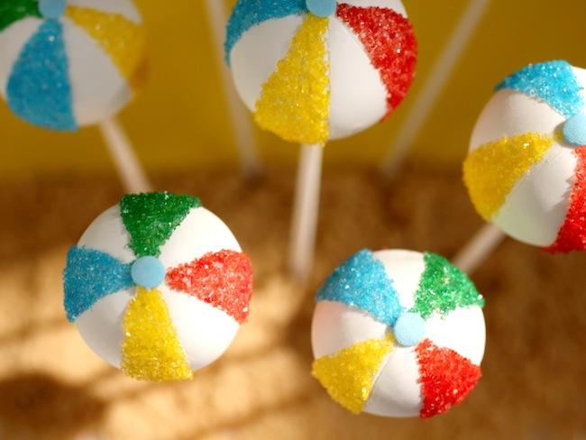 Beach Ball Cake Ideas