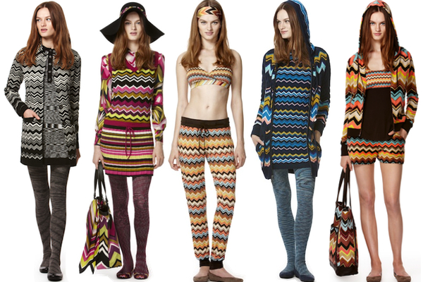 5e77d72b7cc3 Angela and Margherita Maccapani Missoni on their Missoni for Target  Collection