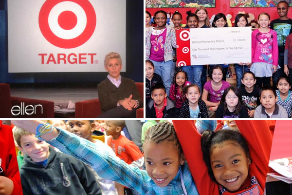 Target Grands $5 Million to 50 Schools