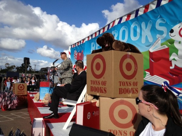 Target Commemorates Veterans Day